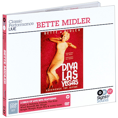 Bette Midler Diva Las Vegas (CD + DVD) Серия: Sight & Sound инфо 5728c.