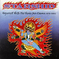 "Starship Greatest Hits (Ten Years & Change 1979-1991) Heart Исполнитель ""Jefferson Starship"" ""Starship"" инфо 10306c."